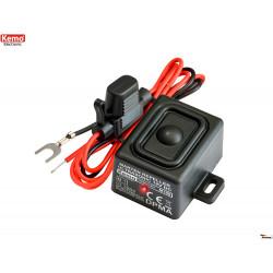 Repellente ultrasuoni Topi Martore Roditori autoveicoli, casa impermeabile IP65 12V DC