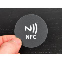 TAG NFC Rundkleber 45mm Polycarbonat außen innen wasserdicht