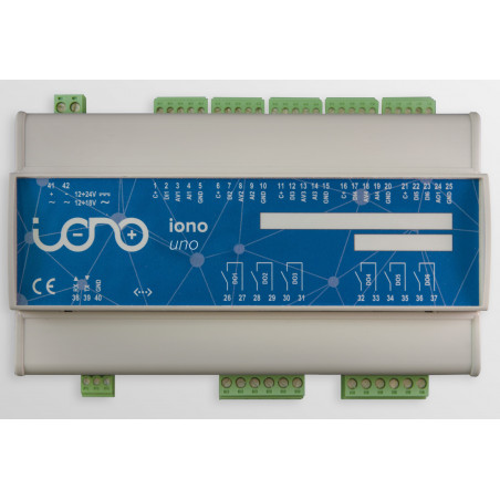 IONO UNO - Interfaccia professionale I/O con board Arduino UNO case barra DIN
