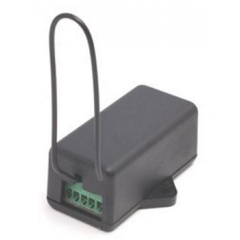 Mini ricevitore radio wireless autoapprendimento universale 433,92 MHz 2 canali