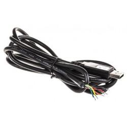 Convertisseur de câble professionnel USB RS232 TTL 5V FTDI avec connexion filaire