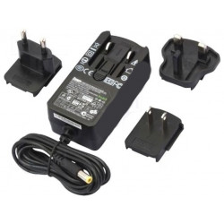 Alimentatore switching spina universale stabilizzato 24V DC 1A plug DC