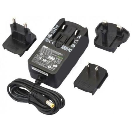 Alimentatore switching spina stabilizzato 24V DC 1A plug DC standard