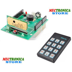 Radiocomando wireless shield Arduino elevata sicurezza con telecomando 12 CH HCS
