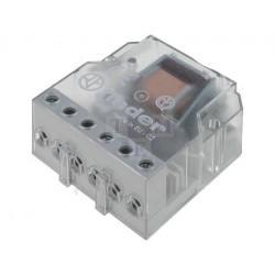 FINDER 26.01 Relé de enclavamiento 12V AC 1 contacto 10A 250V 2 secuencias
