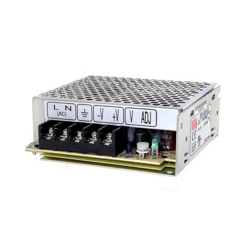 Alimentatore universale switching stabilizzato 12V DC 2,1A RS-25-12