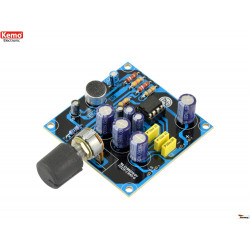 KIT de micrófono parabólico de alta sensibilidad de 9 V CC con rango de salida de auriculares de más de 100 m