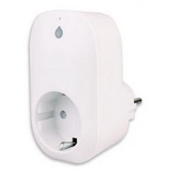 Enchufe Wi-Fi con control remoto, control, temporizador, teléfono inteligente, medidor de consumo de tableta