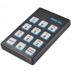 Telecomando palmare 12 canali 433MHz ad elevata sicurezza per ricevitori HCS