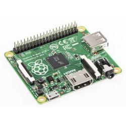 PC integrado Raspberry PI A + ARM 700MHz 256MB RAM, USB, micro SD, HDMI