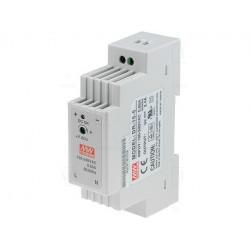 Alimentatore barra DIN universale switching stabilizzato 5V DC 2,4A DR-15-5