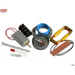 Il kit del piccolo tecnico elettronico – gioco set esperimenti elettrici da 8 anni in su