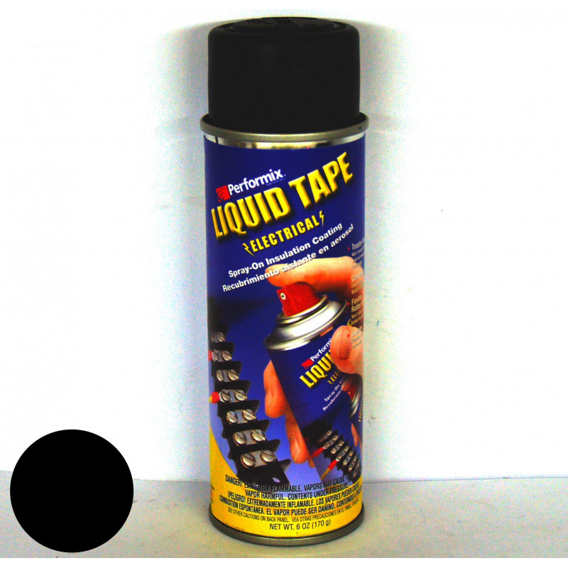 Isolante liquido nero Plasti Dip® 170g 55000V/mm anti abrasione SPRAY