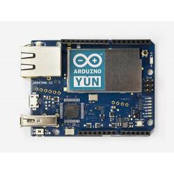 Arduino YUN SMD board microcontrollore + embedded PC linux LAN WiFi microSD
