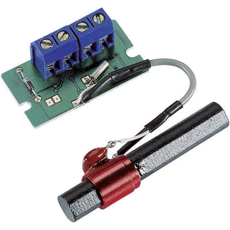 Tarjeta de recepción de señal horaria DCF con antena de ferrita para microcontrolador, PC, sistemas integrados