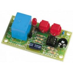 START STOP timer 0-15 minutes 12V DC avec relais de sortie 2A 240V