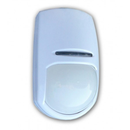 Sensore PIR volumetrico wireless batteria PET immune staffa Allarme 2800-LED