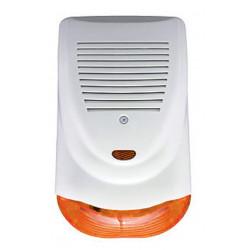 Sirena antifurto allarme anti schiuma strappo filare 9-18V 128dB auto alimentata