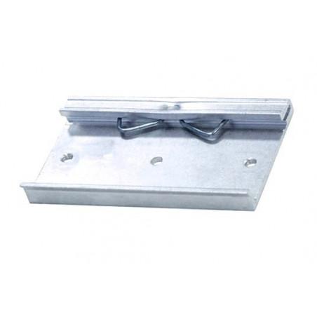 Gancio barra DIN in metallo per posteriore alimentatori switching in case metallico