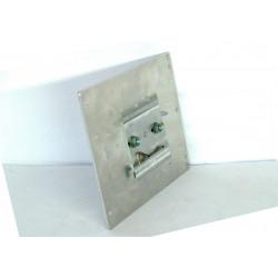 Support de barre DIN en métal pour alimentations à découpage arrière dans un boîtier métallique