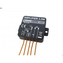 Amplificador de audio compacto de 12 W de potencia universal 8-16 V CC