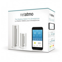 Netatmo stazione meteo wireless WiFi unità esterna + interna Smartphone Tablet PC internet