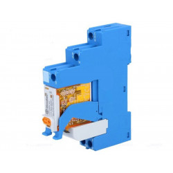 Modulo relè SPDT 16A 250V AC DC bobina 230V AC zoccolo supporto barra DIN