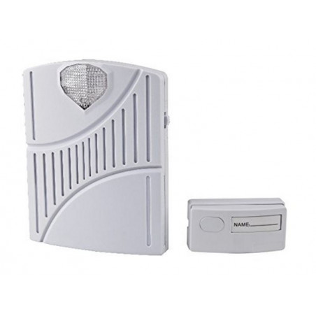 Wireless electronic doorbell 200m range with signaling LED