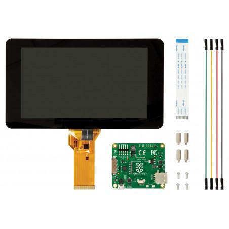 "KIT schermo Touch screen 10 dita display Monitor 7"" per Raspberry Pi"