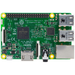 Raspberry PI 3 mod B - Quad core 1 GB RAM, USB, micro SD, HDMI, WiFi, BT, LAN