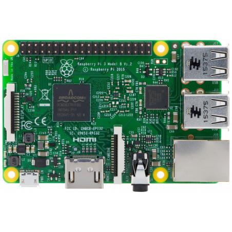Raspberry PI 3 mod B - Quad core 1 GB RAM, USB, micro SD, HDMI, WiFi, BT, LAN