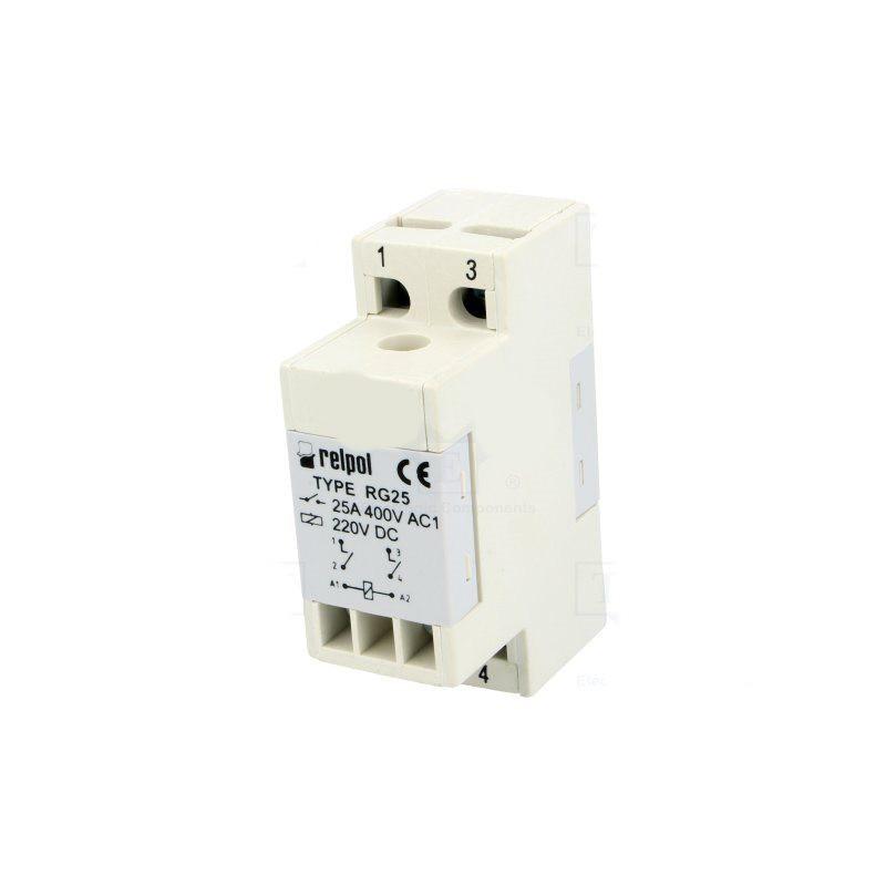 Modulo relè SPDT 16A 300V AC DC bobina 230V AC modulo barra DIN
