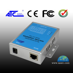 DTE-DCE RS232-RS422 / RS485 converter with ATC-105 galvanic isolation