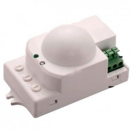 Sensore di Movimento a Microonde + Crepuscolare Montaggio Interno di Lampade 230V