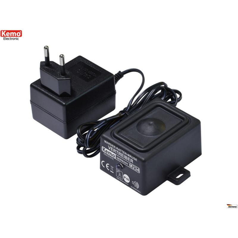 Repellente ultrasuoni Topi Martore Roditori esterno interno casa impermeabile IP65 230V