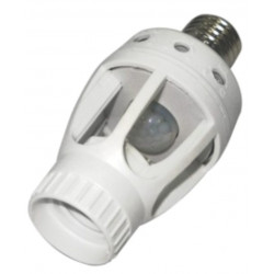 AUTOMATIC LIGHT SWITCH-ON MOTION SENSOR FOR E27 BULB