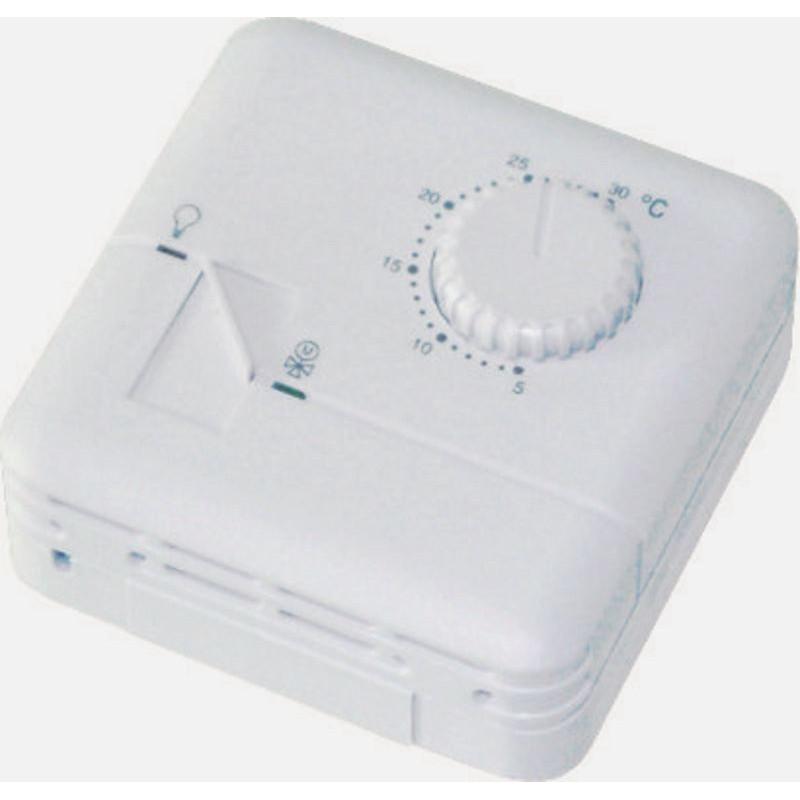 Termostato elettronico manuale caldo freddo riscaldamento condizionamento