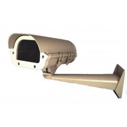 Custodia apribile telecamera videosorveglianza termoregolata con staffa parete
