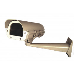 Custodia apribile telecamera videosorveglianza da esterno con staffa da parete