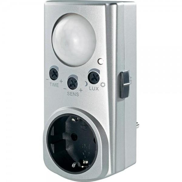 sensore di movimento accendi luce automatico per presa. Black Bedroom Furniture Sets. Home Design Ideas