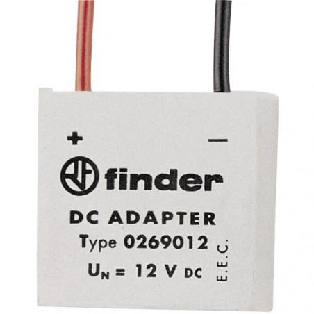 FINDER 026.9 Accesorio de bobina de 12 V CC para relés de enclavamiento de la serie 26