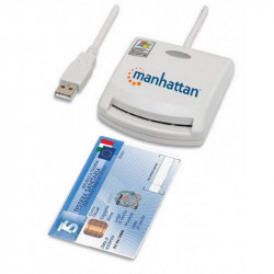 External USB Smart card reader for PC Plug & Play authentication services