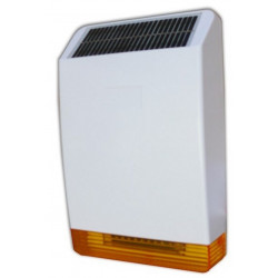 Defender 868 MHz 12V 100dB de alarma antirrobo de coche con sirena inalámbrica para exteriores