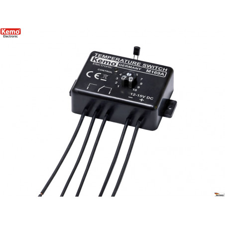 Termostato elettronico caldo freddo alta precisione 0-100°C 12-15V DC relè