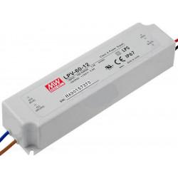 Alimentatore universale switching stabilizzato 15V DC 4A IP67 LPV-60-15