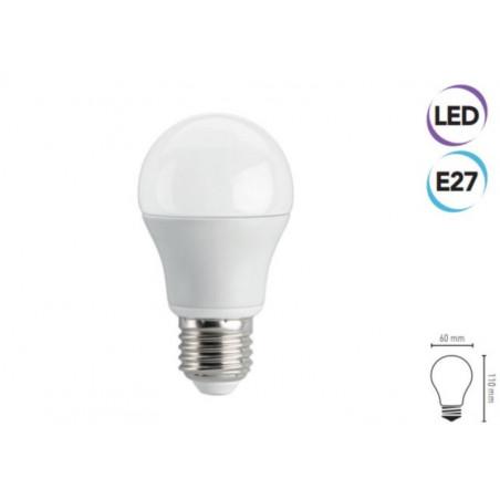 Lampadina LED 8W E27 560 lumen bianco freddo classe A+ Electraline 63242