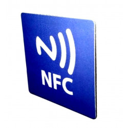 TAG NFC scrivibile per Windows Phone, Android, Blackberry magnetico per metallo