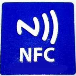 MICRO adhesive NFC TAG size 19 x 19 mm for smartphone