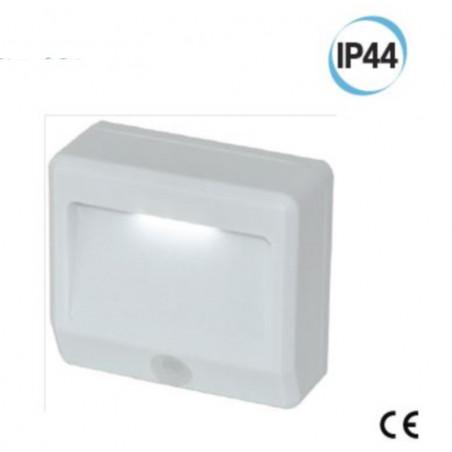 Luce LED  con sensore  di movimento e crepuscolare IP44 Electraline 58305