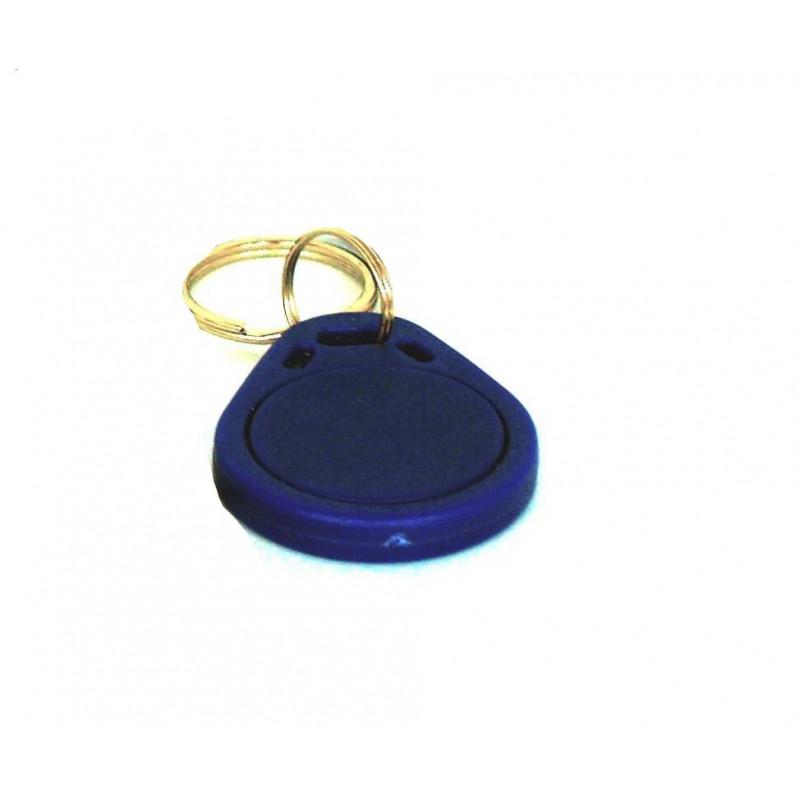 ETIQUETA RFID 125KHz EM4100 LLAVERO AZUL